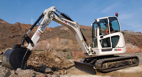 The Terex TC50 Compact Excavator Might be Small in Size, but It's Big on Performance! Learn How This Versatile Machine is Perfect for Landscaping, Plumbing, Septic, Electrical & Utility Work, and More!