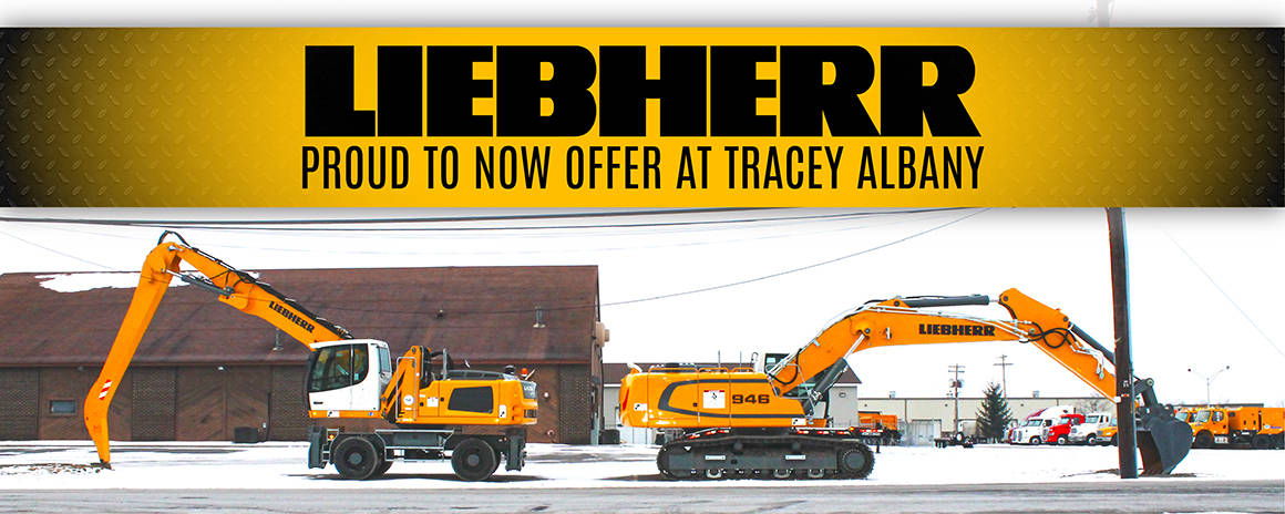 Liehberr Construction Tracey Road Equipment Albany