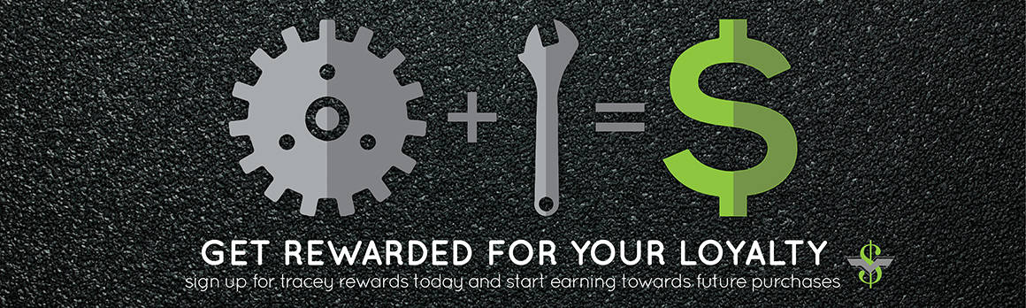 tracey road equipment customer loyalty rewards program