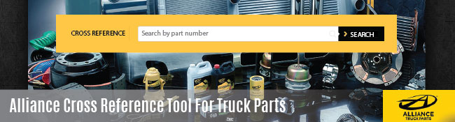 Alliance Parts Introduces cross reference tool for truck parts