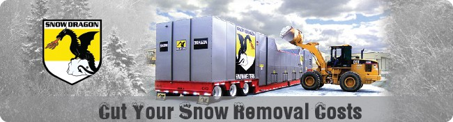 Snow Dragon Snow Removal Systems: Melts Excess Snow, Saving You Time & Money