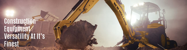 Why We Love The Backhoe | Construction Equipment Versatility At Its Finest