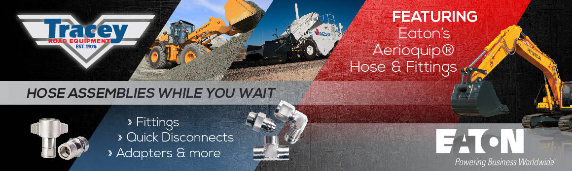 Eaton Hydraulic Hose Assemblies While You Wait | Tracey Road Equipment