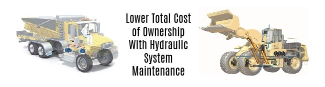 Lower Total Cost of Ownership With Hydraulic Systems Maintenance