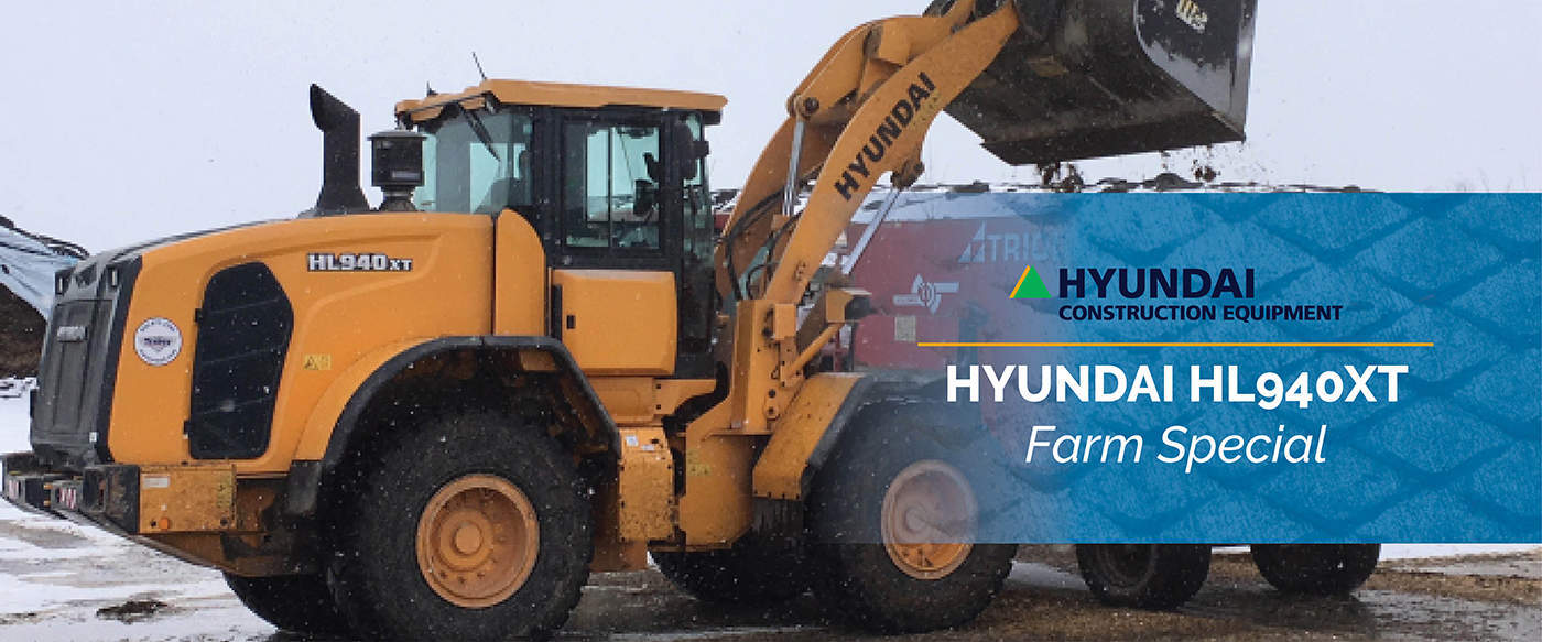 Hyundai HL940XT Farm Equipment Special