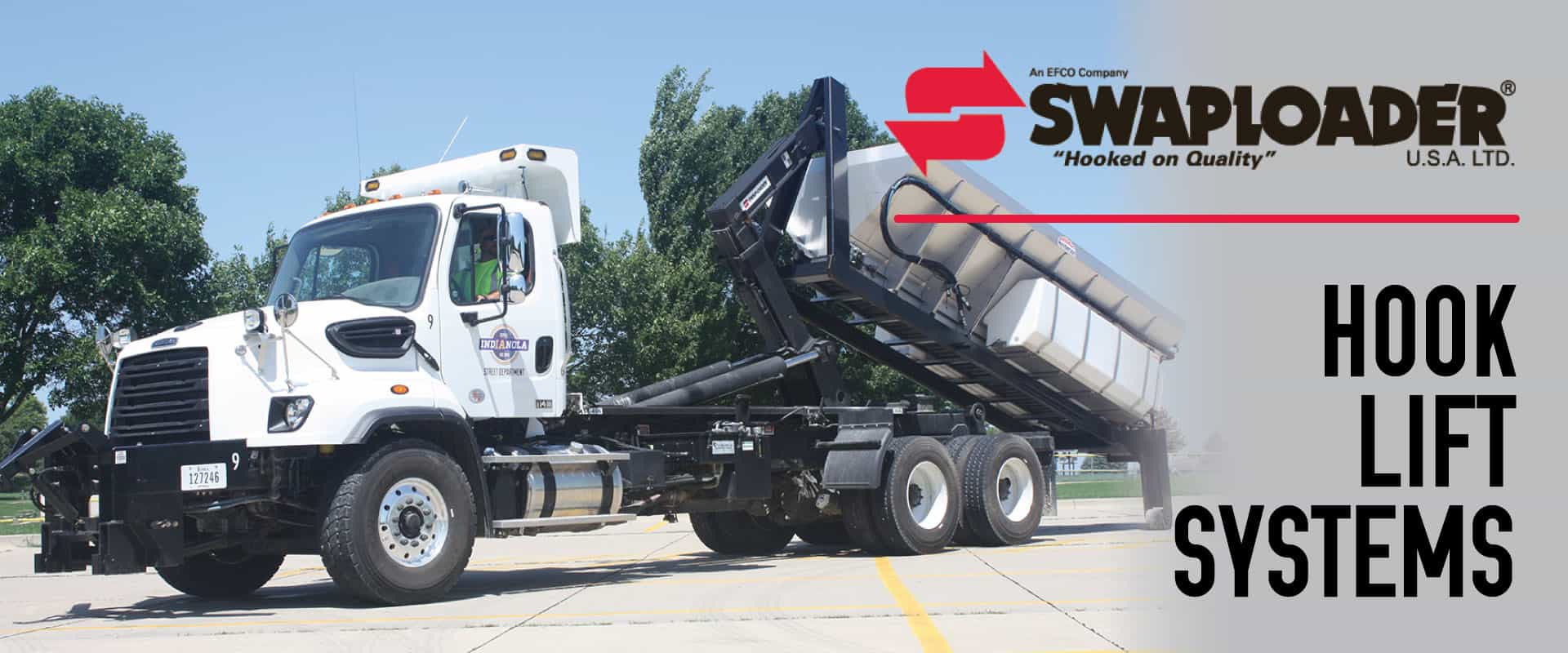 swaploader hook lift systems tracey road equipment