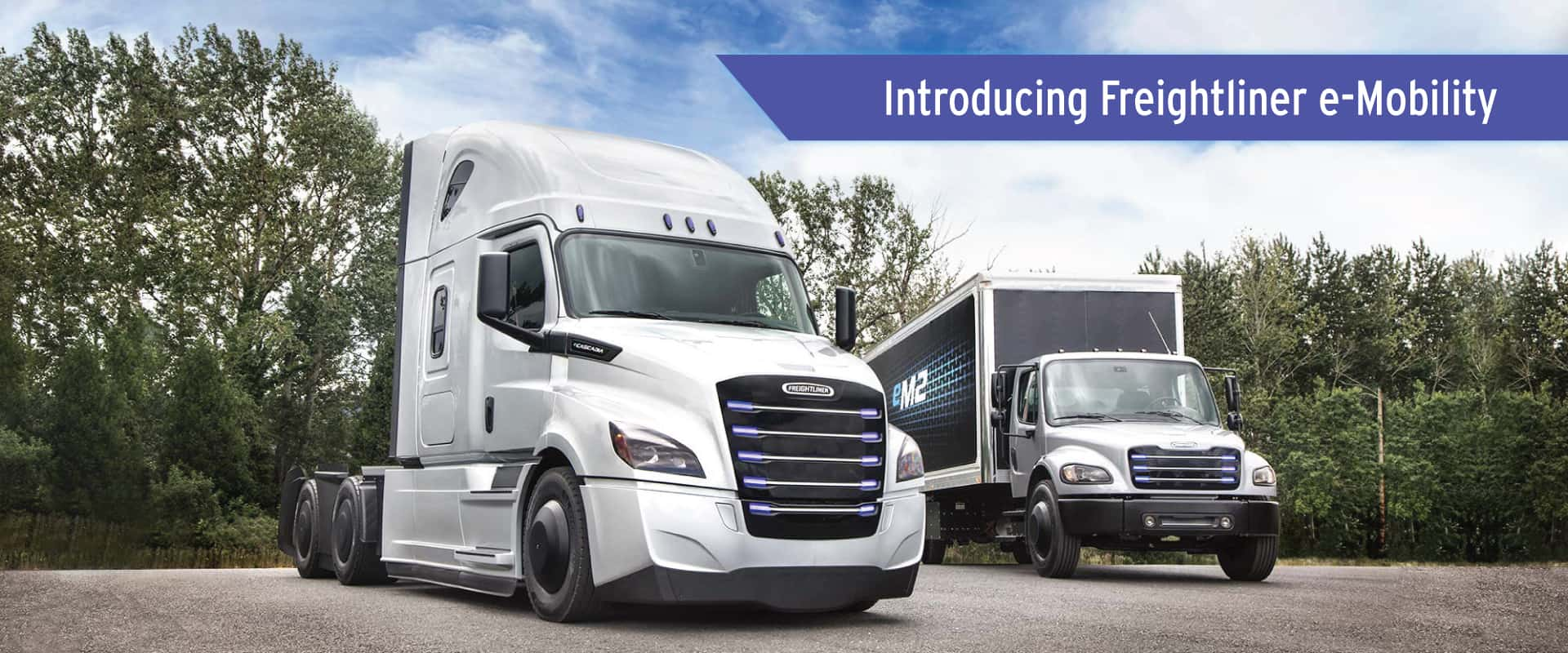 Introducing Freightliner e-Mobility