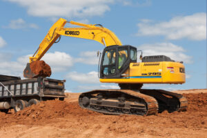 Tracey road equipment, tracey road, tracey, kobelco, crawler excavator, parts, service