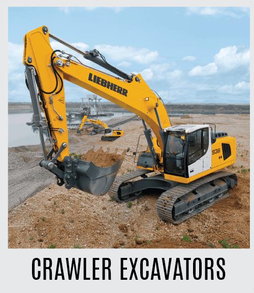 Liebherr Crawler Excavators