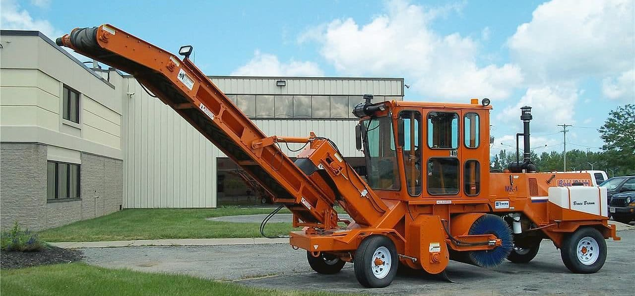 Broce Broom Sweepers Tracey Road Equipment