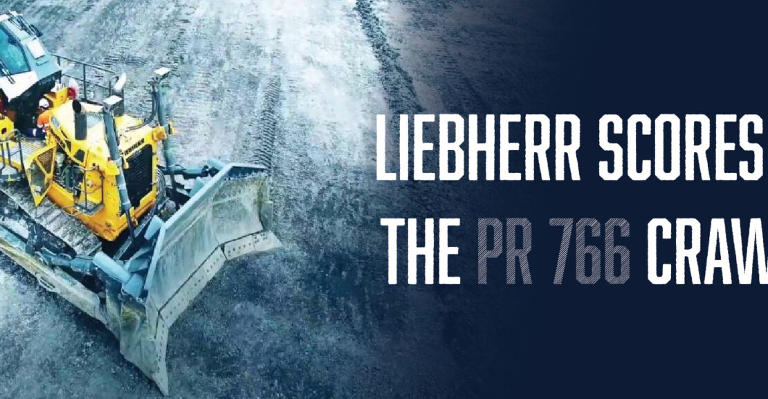 Liebherr Scores Another Hit the PR 766 Crawler Tractor   Tracey Road Equipment
