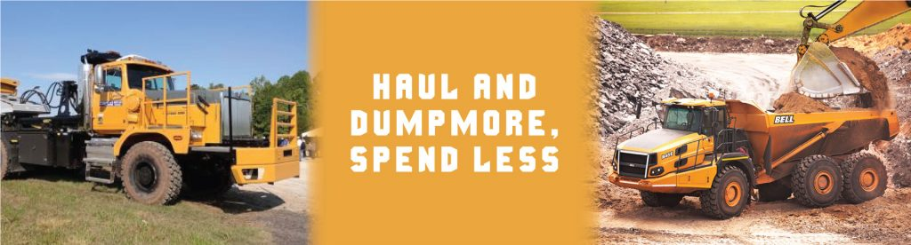 Haul and Dump More, Spend Less | Tracey Road Equipment