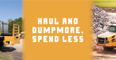 Haul and Dump More, Spend Less   Tracey Road Equipment