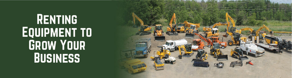 Renting Equipment to Grow Your Business | Tracey Road Equipment