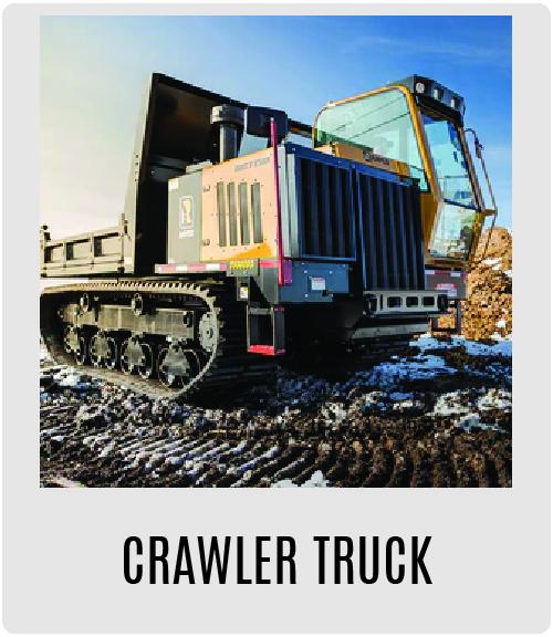 Morbark Crawler Trucks