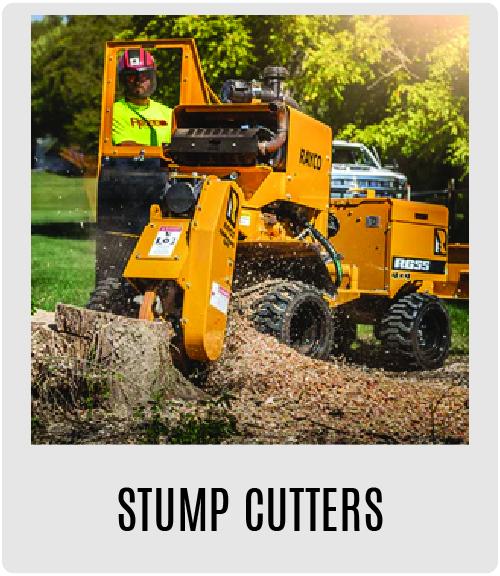Morbark Stump Cutters
