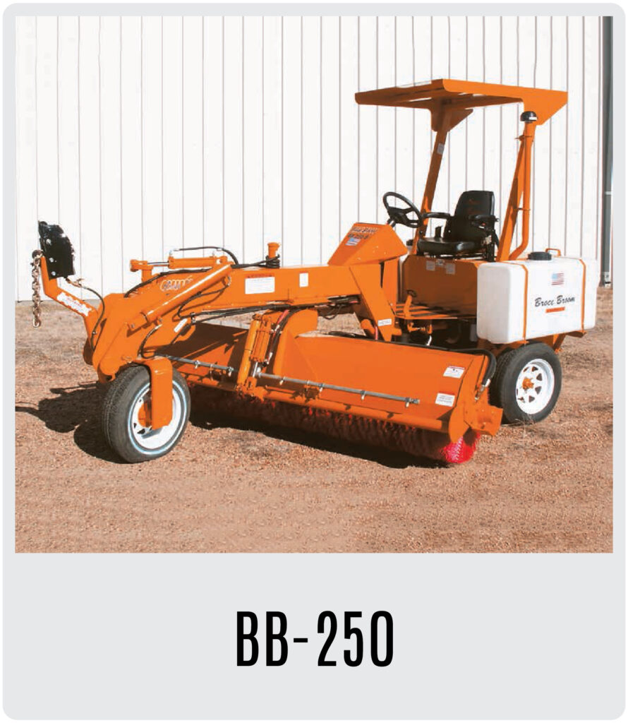 Broce BB-250 Series Broom
