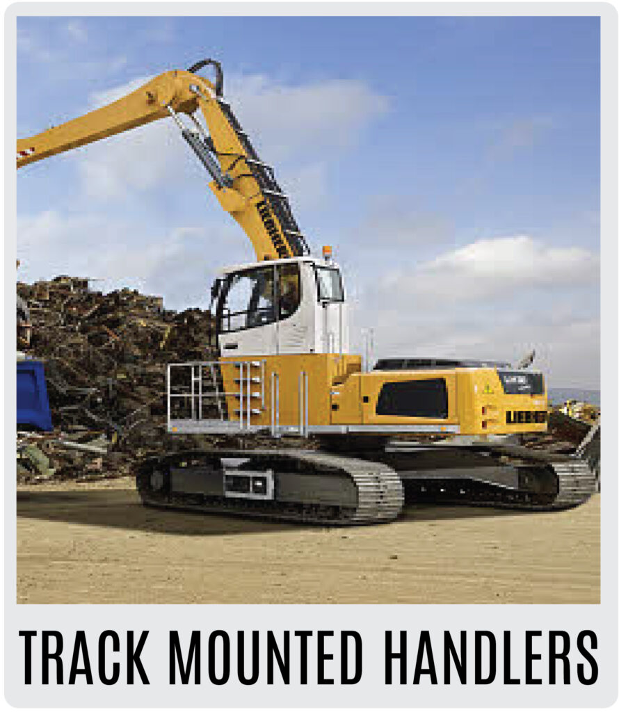 Liebherr Tracked Mounted Material Handlers
