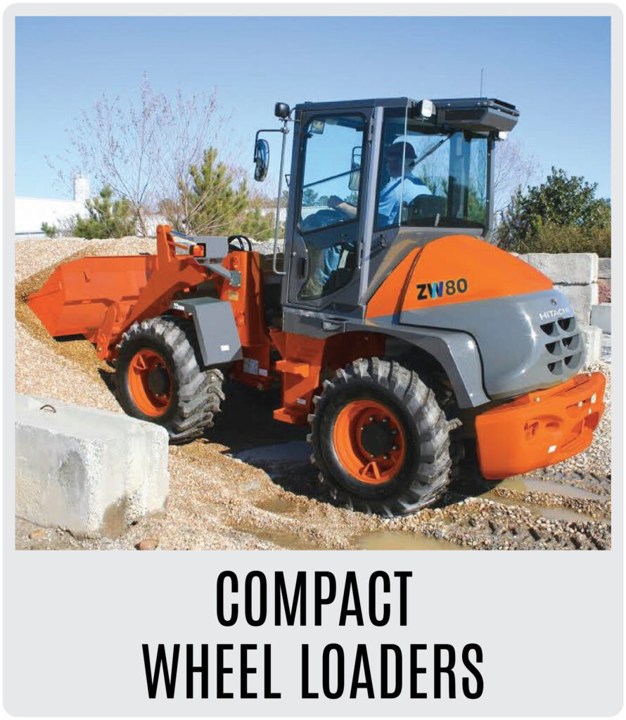 Hitachi Compact Wheel Loaders