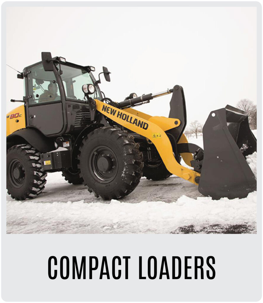 New Holland Compact Wheel Loaders