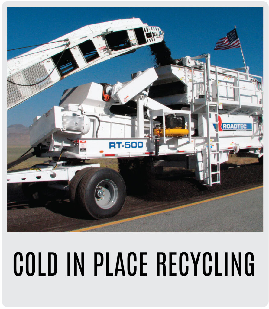 Roadtec Cold In Place Recycling