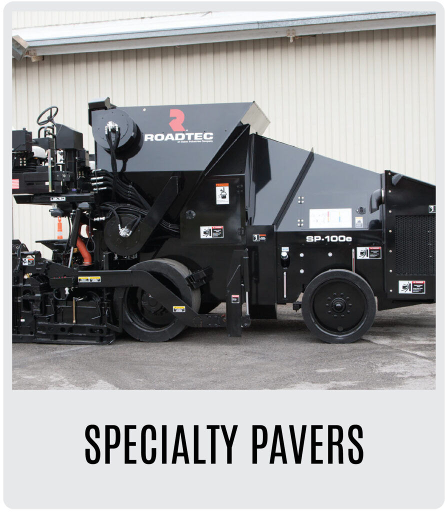 Roadtec Specialty Pavers
