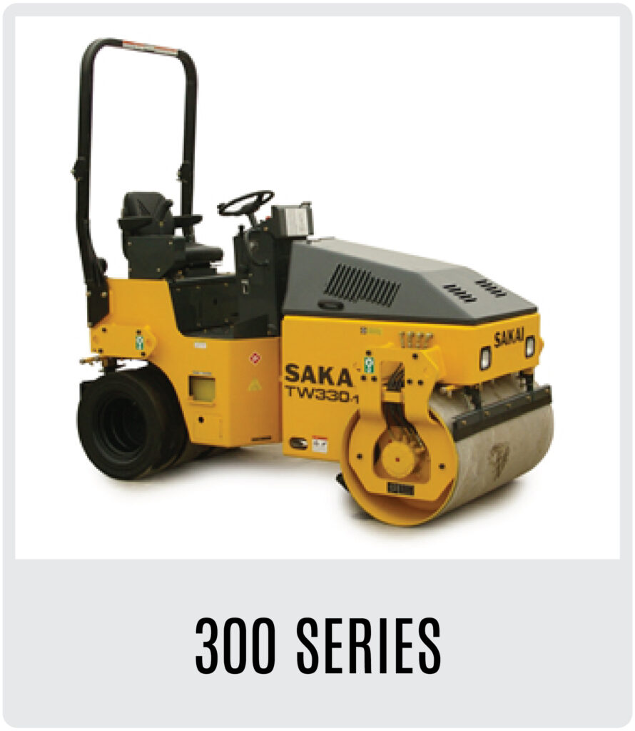 Sakai 300 Series Asphalt Rollers