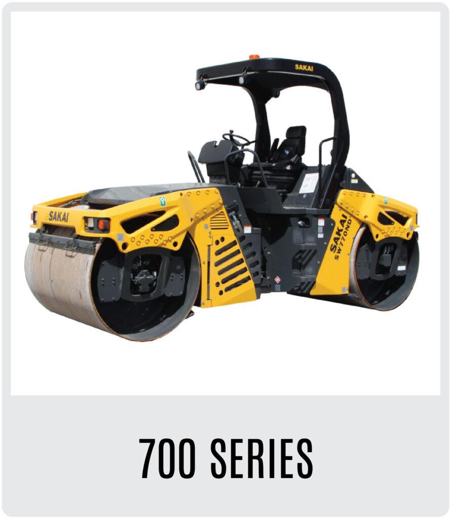 Sakai 600 Series Asphalt Rollers