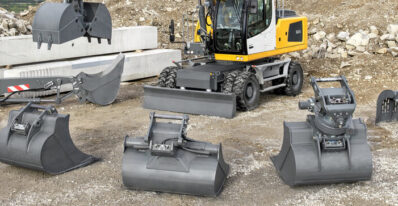 Quick coupling systems and attachments from Liebherr: The optimal tool for every operation Tracey Road Liebherr Attachments Syracuse NY